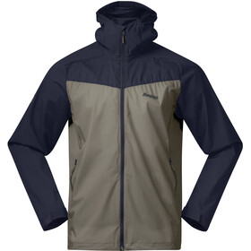Bergans Microlight Jacke Herren green mud/dark navy